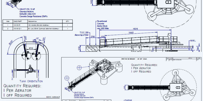 Product CAD drawings